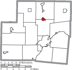 Location of Anna in Shelby County
