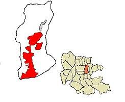 Localización de San Diego en Carabobo