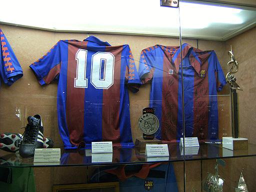 Maradona Barcelona shirt