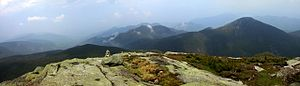 Mount Marcy - Image: Marcy summit panorama