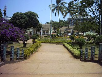 Margao - Margão Municipal Garden, located in the heart of the city.
