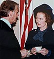 Margaret Thatcher visiting Jimmy Carter.jpg