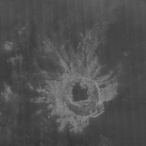 Maria Celeste (crater) - Image: Maria Celeste crater on Venus