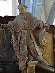 Marienstiftskirche Lich Kanzel Bernhard von Clairvaux 03.JPG
