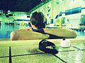 Marine completes Marine Corps Birthday Swim in one day 141010-M-VZ199-001.jpg