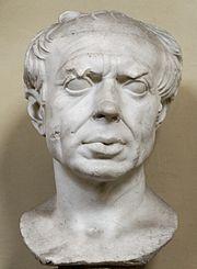 Busto di Gaio Mario in età avanzata (Museo Chiaramonti), zio di Cesare.