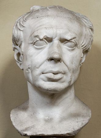 "Gaius Marius - So-called ""Marius"" bust, marble, Roman artwork of the 1st century BC, restored by Alexander Trippel, now in the Vatican Museums"