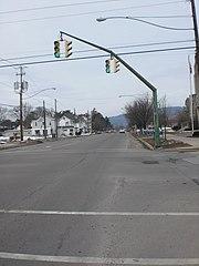 Market Street in Berwick, Pennsylvania