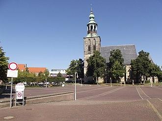 Nordhorn - Market square Nordhorn