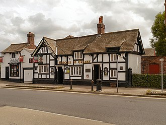 Listed buildings in Warrington (unparished area) - Image: Marquis of Granby, Warrington