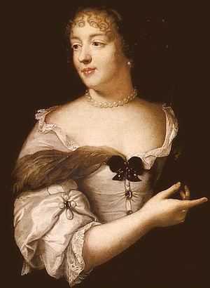 Marie de Rabutin-Chantal, marquise de Sévigné - Marquise de Sévigné by Lefebvre (1665) by Claude Lefèbvre