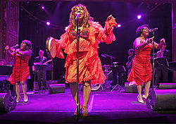 Martha and the Vandellas 2011 at Berns in Stockholm, Sweden.jpg