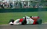 Martin Brundle - Mclaren MP4-9 at the 1994 British Grand Prix (32418591041).jpg