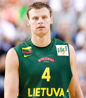 Martynas Pocius - Martynas Pocius representing Lithuania national team