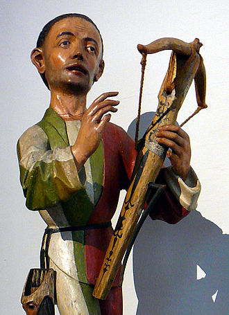 History of crossbows - Late medieval crossbowman from ca. 1480