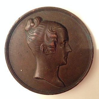 Mary Somerville - Commemorative medal of Mary Somerville