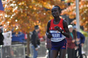 Mary Jepkosgei Keitany - Keitany at the 2011 New York City Marathon