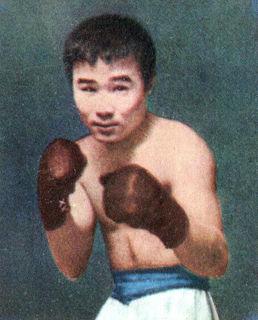 Japanese boxer