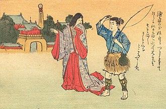 Urashima Tarō - Image: Matsuki Heikichi(1899) Urashima p 04
