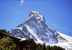North face of the Matterhorn