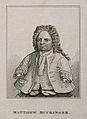 Matthias Buchinger, a phocomelic. Stipple engraving. Wellcome V0007015ER.jpg