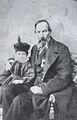 Mattia Battistini with his grandfather Giovanni Battistini.jpg