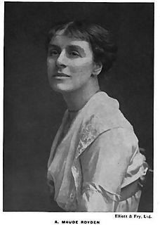 Maude Royden British suffragist