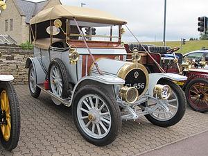 Maudslay Motor Company - 1910 Maudslay 17hp Tourer