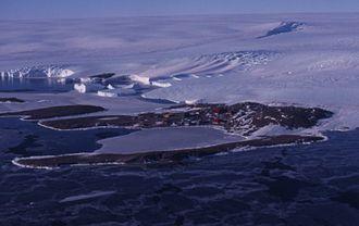 Antarctic oasis - Holme Bay at Mawson Station, Mac. Robertson Land
