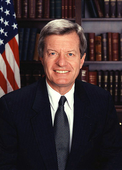 Senator Max Baucus (D - Montana) Chair of the Senate Finance Committee; Source:  Wikimedia.org