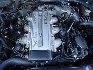 Mazda J engine Motor vehicle engine
