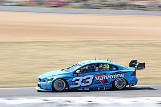 Alexandre Prémat - Prémat driving for Garry Rogers Motorsport at the 2014 Bathurst 1000
