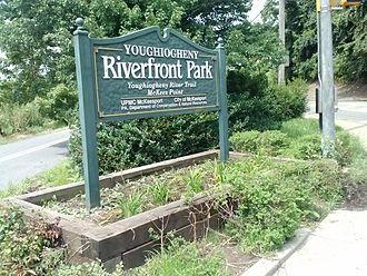 Youghiogheny River Trail - Trail through McKeesport, Pennsylvania