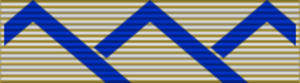 Édouard Guillaud - Image: Medaille de Reconnaissance de la Nation (d'Afrique du Nord) ribbon 2