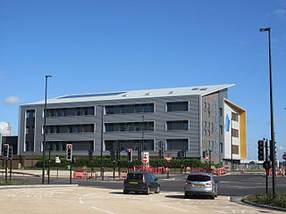 Waterfront UTC University technical college in Chatham, Kent, England