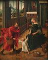 Meester van de Legende van de H. Magdalena - Heilige Familie.JPG