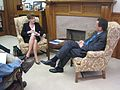 Meeting with incoming UConn President Susan Herbst. (5411838112).jpg