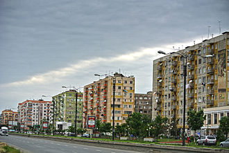 Rustavi - Image: Megobroba avenue