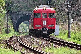 Meitetsu Hiromi Line railway line owned by Meitetsu in Japans Chubu region