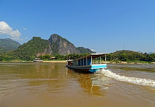 river in Southeast Asia
