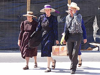 Russian Mennonite - Mennonite family in Campeche, Mexico