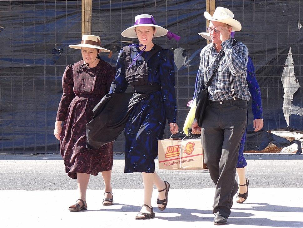 Mennonite Family - Campeche - Mexico - 02