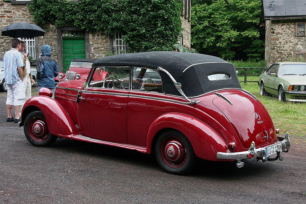 file mercedes benz 170 s cabriolet b bj 1950 ret kl jpg wikimedia commons. Black Bedroom Furniture Sets. Home Design Ideas