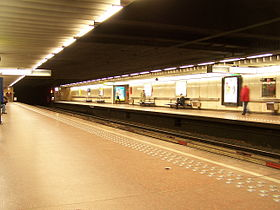 Image illustrative de l'article Parc (métro de Bruxelles)