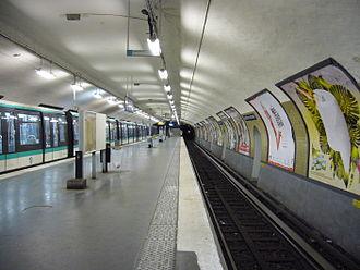 Château de Vincennes (Paris Métro) - Image: Metro Paris Ligne 1 Chateau de Vincennes