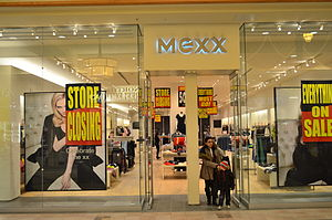 Mexx - Mexx store closing sale in Feb 2015. This location is in Hillcrest Mall.