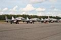 MiG-29SMT Fulcrum line-up at Chkalovsky (8510684525).jpg