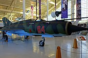MiG 21MF Fishbed-J, 1975 - Evergreen Aviation & Space Museum - McMinnville, Oregon - DSC01085.jpg