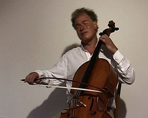Michael Bach (musician) - Michael Bach, Cello with BACH.Bow