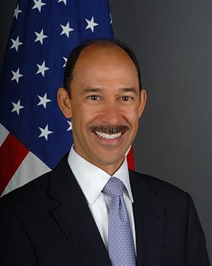 Michael Corbin - Image: Michael H Corbin ambassador 2011